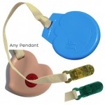 Clip-On Lanyard - Please note that SentioCHEWS and KidCompanions Chewelry Clip-ons make great hand fidgets and if the urge to chew and bite comes along they are perfect to put in the mouth.