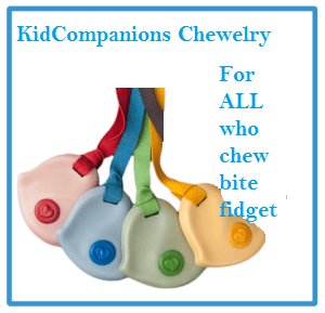 Passed Toddlerhood and Still Mouthing: Chew Necklace Is the Solution