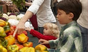 farmers' market Tips for Making Road Trips with Kids FUN