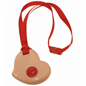 Pink Heart KidCompanions Chewelry