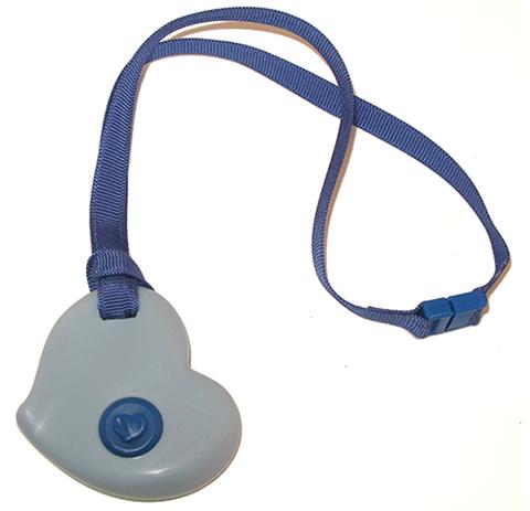 blue heart KidCompanions Chewelry