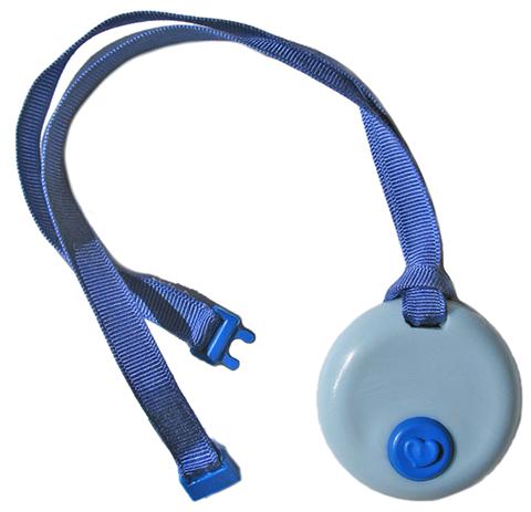 blue circle KidCompanions Chewelry