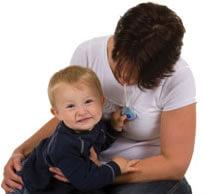mother-child-blue-chewable-pendant