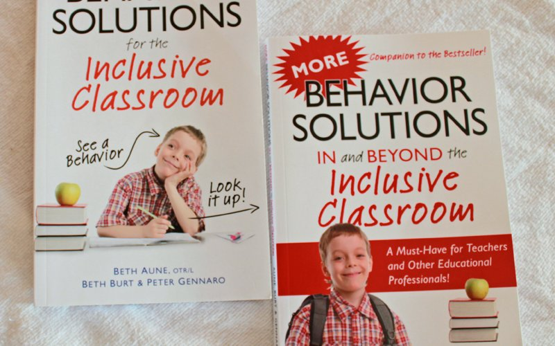 Two Books on Behavior Solutions IN and BEYOND the Inclusive Classroom