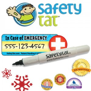 SafetyTat ID tattoos item in Sensory Crate