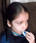 Child chewing on KidCompanions Chewelry -Could be part of her sensory diet