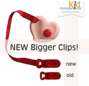 Our Clip-on Chew Pendants clip to clothes, school bag strap, belt or with the longer lanyards that can be bought separately can also be worn like a necklace.
