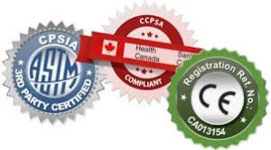 Logos of CE mark -KidCompanions Chewelry is CE marked- chewy and fidget ready for the EU countries