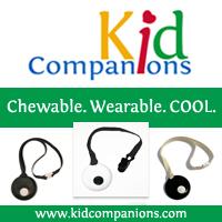 KidCompanions Chewelry: SAFE, Sensory Chew Necklace & Handy Fidget