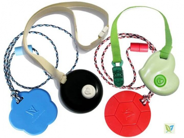 KidCompanions Chewelry & SentioCHEWS: SAFE, Sensory Chew Necklaces and Clip-on Fidgets