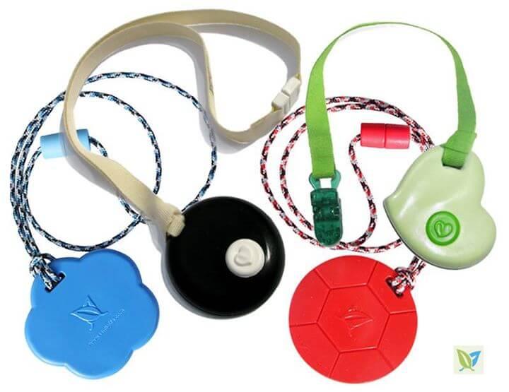 KidCompanions Chewelry & SentioCHEWS: SAFE, Sensory Chew Necklaces and Clip-on Fidgets