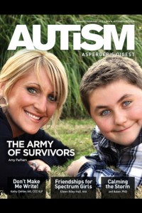 The  Autism Asperger's Digest. This is a bi-monthly print magazine now also available on Apple iOS.