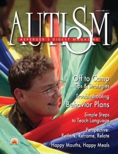 March-April 2011 issue of the Autism and Asperger's Digest