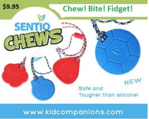 Second Line of Chew Necklaces, SentioCHEWS, Launched Nov. 2013