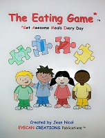 The Eating Game™ invented by Jean Nicol helps children eat new foods.
