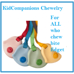 Our KidCompanions Chewelry can comfort and calm anxious kids at school.