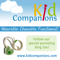Pierrette's goal was to design a stylish, efficient, and SAFE sensory oral-motor tool that you wear - KidCompanions Chewelry