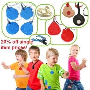 Super Pack of Chewable Sensory Toys 20% off single item prices! Group Pack of Chewable Sensory Toys made for school classes or groups that have chewers, mouthers and fidgeters!