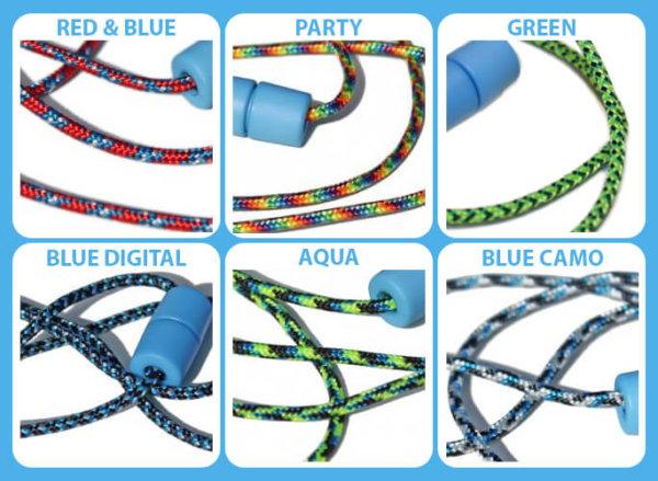 Breakaway lanyard Colors BLUE BREAKAWAY CLASP