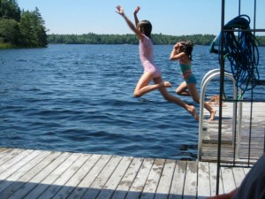 Swimming lessons at the lake, The Benefits of Enrolling your Child in Swimming Lessons