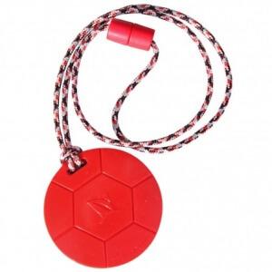 SentioChews Red Soccer Ball