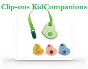 Clip-on KidCompanions Chewelry by SentioLife Solutions.