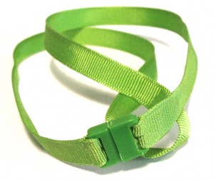 Our colorful, matching KidCompanions Chewelry breakaway lanyards are made from very soft, 100% cotton.