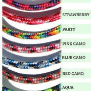 SentioSTYLES Breakaway Lanyards come in many colors and can be bought separately.
