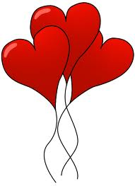 Red heart ballons - When a youth is diagnosed with a mental disorder or learns and understands that he has one, family and friends must show love and support.