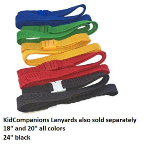 KidCompanions Breakaway lanyards also sold separately.