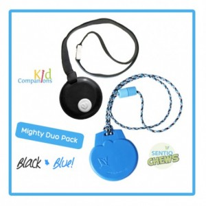 Mighty Chewelry Duo – Black & Blue
