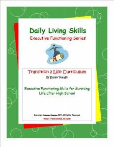 Daily Living Skills Coverby Susan Traugh - Guide Books To Develop Skills Needed to Transition Into Adulthood