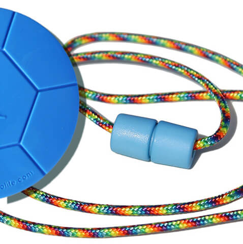 PARTY breakaway lanyard and soccer ball Chewable pendant