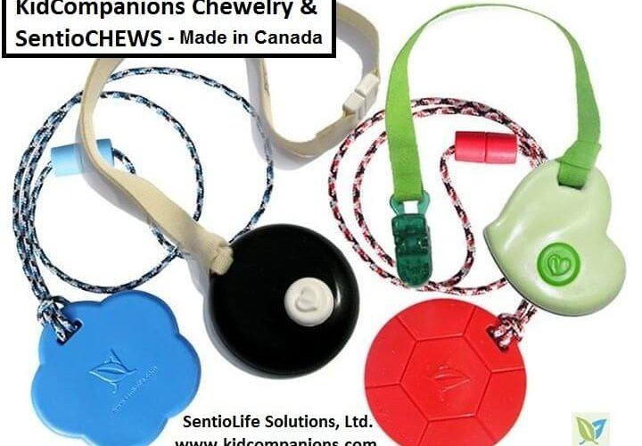 Need a COOL Chew Necklace for One Who Must Bite, Chew, Fidget?