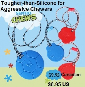 Canadian made SentioCHEWS: Our More Durable Chewy