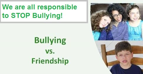 Everyone Has a Responsibility To STOP Bullying by Williams Syndrome Changing Lives Foundation