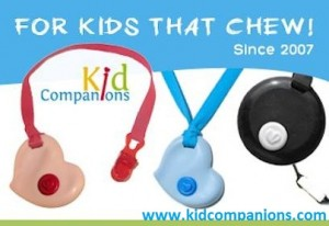 KidCompanions Chewelry and SentioCHEWS are helpful to those who need a chew necklace or those who need a hand fidget to help them self-regulate and focus.