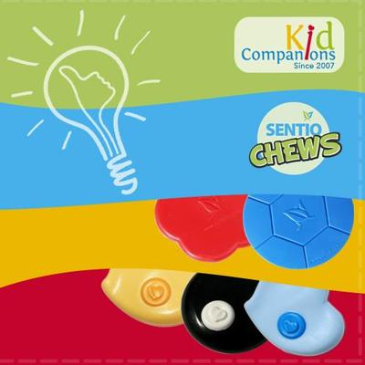 Is It a Chewy or a Fidget? SentioCHEWS and KidCompanions Chewelry Chew Necklaces Are BOTH!
