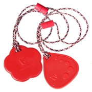 red-flower-dotdrop-chewable-necklaces