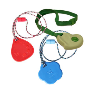 3-pack chewable necklaces