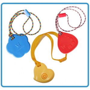 girls-rule 3-pack chewable necklaces