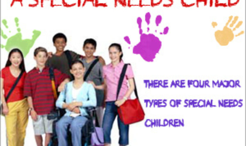 Anatomy of Special Needs Children by Masters-in-special-education.com