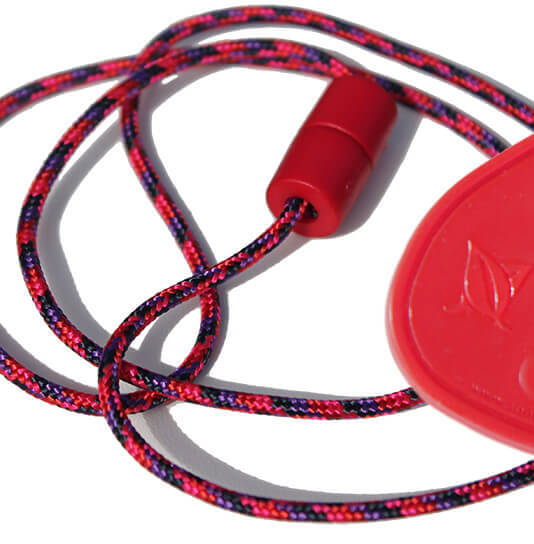 SentioCHEWS Chewable Drop Necklace -Candy color Breakaway Lanyard.