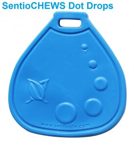 Help Your Child to Satisfy His Urge to Finger Pick with a Discrete Fidget like SentioCHEWS Dot Drops.