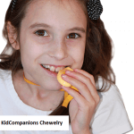 Using hand fidgets or chewing and biting on sensory oral-motor tools like KidCompanions Chewelry or SentioCHEWS are forms of movement.
