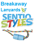 SentioSTYLES: Colorful, Breakaway Lanyards 24 and 28 Inches Sold Separately