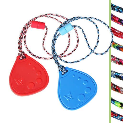 chewable drop necklace duo