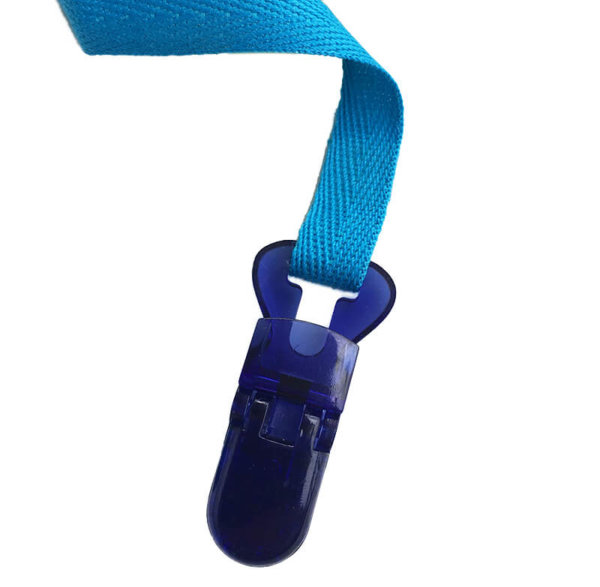 Blue Clipon Lanyard